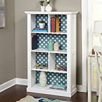 Overstock.com deals on Simple Living Ella Bookcase with Reversible Back Panel