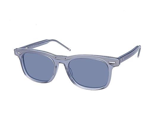 312c1e5aef0 Amazon.com  Thom Browne TB-705-C-T-GRY-SLV-50 Sunglasses  Clothing