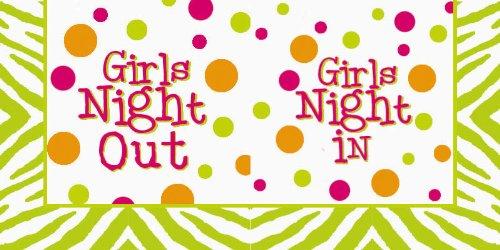 Девушки Ночь в / из салфеток