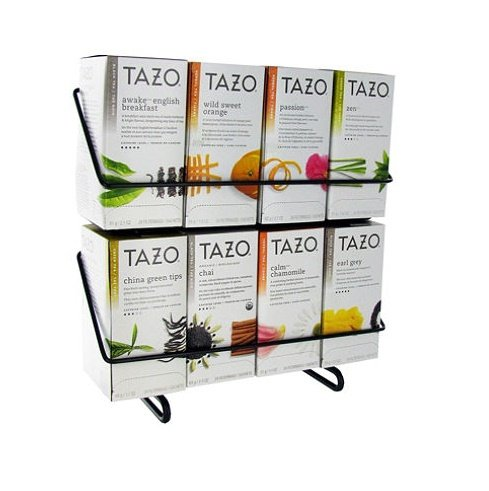 24 Ct Display (Tazo Tea Bag Variety Pack with Display Stand- 24 ct. - 8 boxes)