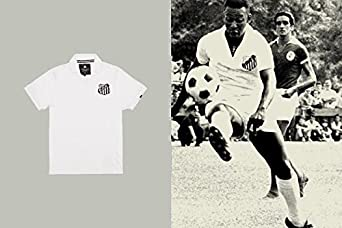 Coolligan - Polo de Fútbol Retro 1958 Pelé - Color - Blanco - Talla - 3XL: Amazon.es: Ropa y accesorios