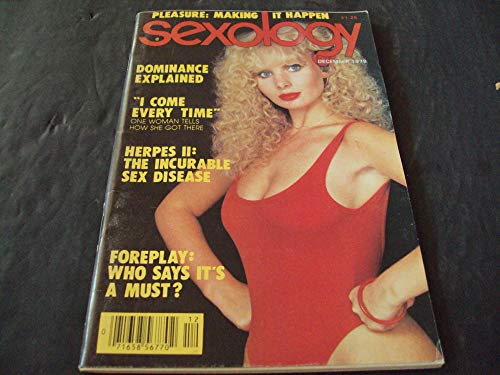Sexology Dec 1979, Dominance Explained, Foreplay