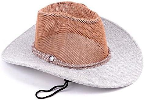 ZXR/Liang Mao/sombrero de cowboy/exterior en verano Caballero ...