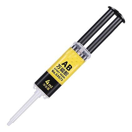 Amazon com: Strong AB Super Glue Multi-Purpose Instant Repair, 2 IN