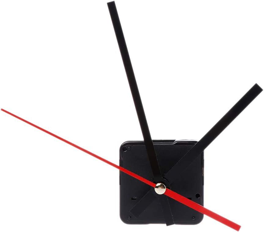 Mayoaoa Quarzuhr Bewegungsmechanismus H/ände Wandreparatur Werkzeugteile Silent Quarzuhrwerk Kit Set DIY Uhrwerk F/ür Wanduhr
