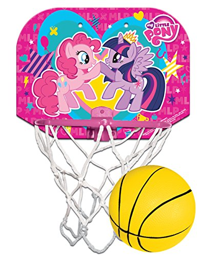 Hedstrom My Little Pony Plastic Hoop Set Kids Hoop Set (My Little Pony Ball)
