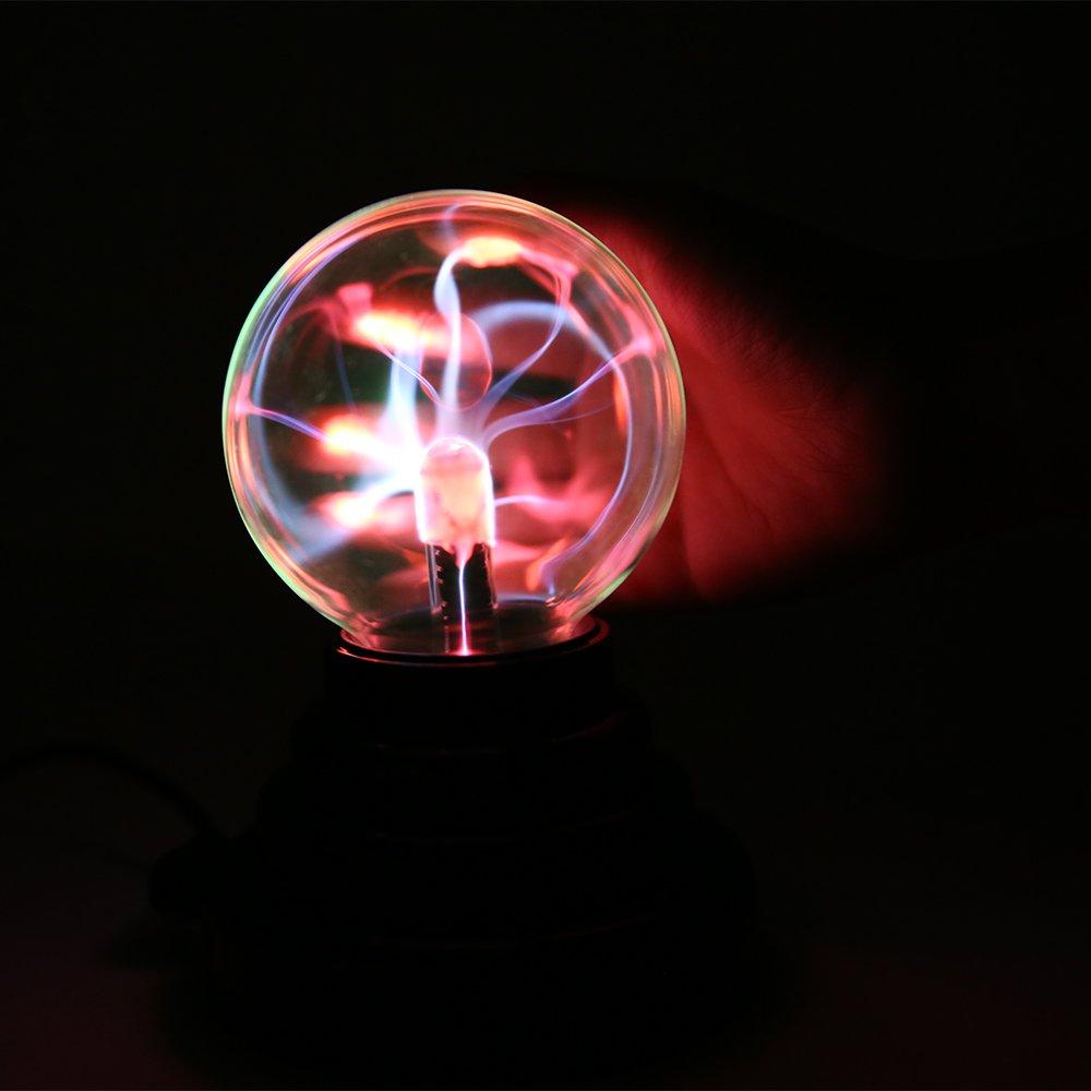 Light Up Toys USB Plasma Ball Glow Toy Flashlight Magic Plasma Ball Sphere Light Luminous Toy For Children Gift