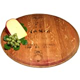 Old River Road Wine Cask Lazy Susan