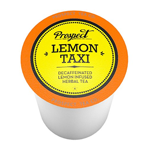 Prospect Tea Decaffeinated Lemon Taxi Single-Cup Tea for Keurig K-Cup Brewers, 40 Count (Taxi Kcup)
