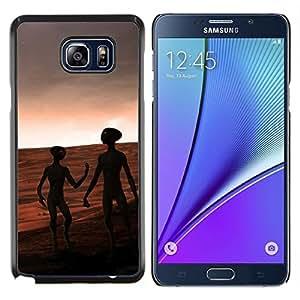 Queen Pattern - FOR Samsung Note 5 N9200 N920 - aliens mars red planet universe cosmos space - Cubierta del caso de impacto con el patr???¡¯???€????€??&sbqu