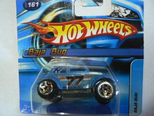 Hot Wheels 2005 Blue Baja Bug #161 on Short Card (Baja Bug Hot Wheels)
