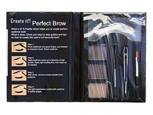 Cameo Perfect Brow Makeup, Dark Brown