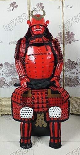 Traje De Armadura Japonés Usable Réstung Samurai Máscara ...