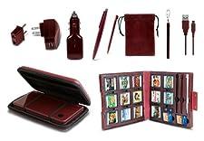 11 in 1 Starter Kit for DSi XL - Wine Red - Nintendo DS Standard Edition