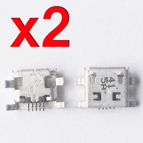 ePartSolution_2X Motorola Moto G XT1045 XT1039 XT1033 XT1034 XT1036 USB Charger Charging Port Dock Connector USB Port Replacement Part USA Seller