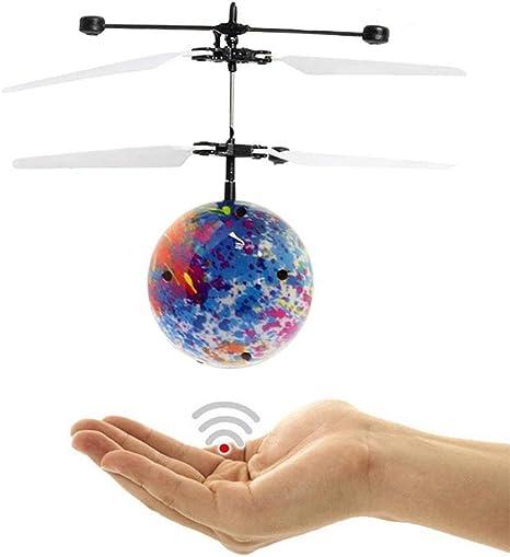 Juguete Moscas juguete Multicolor pelota mano Moscas UFO LED Mini ...