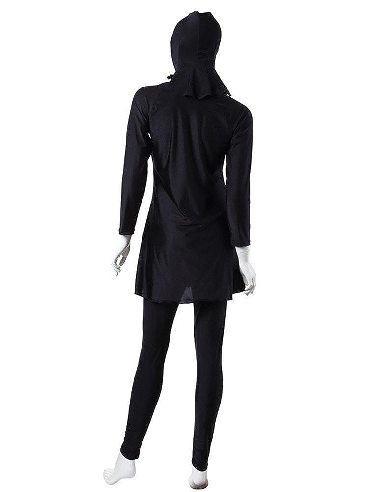 CaptainSwim Womens Full Length Long Muslim Islamic Burkini Modest Swimwear