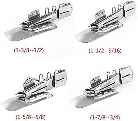 1 carpeta de anillas planas para máquina de coser industrial (5/8 ...