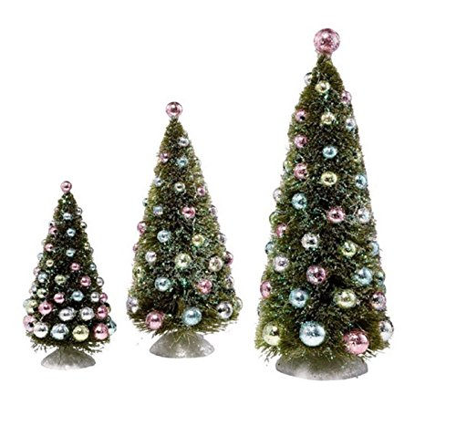 Dream-Snowbabies 25th Anniversary from Department 56 Dream Tree With Ornaments, Set/3