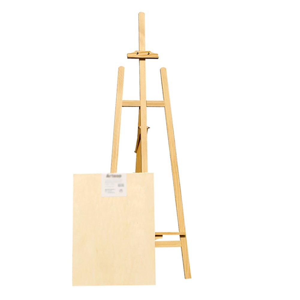 木製イーゼル大人用ブラケットタイプ屋外用スケッチ練習用三脚の表示 B07FCPW6XN、キャンバス最大高さ105cm B07FCPW6XN, 現場リズム:9cb5bb95 --- ijpba.info