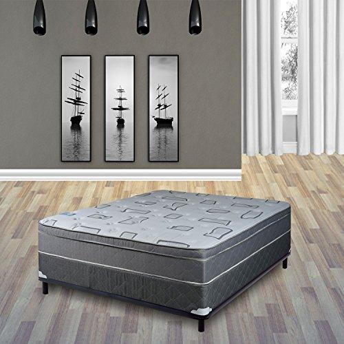 Continental Sleep Mattress 10 inch Euro Top Pillow Fully Assembled Orthopedic Twin XL Mattress
