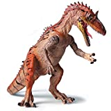 Kolobok Dinosaur Toys Park - Dino World Model - Jurassic Action Figures Cryolophosaurus Great Predator - Wild Orange Evolution