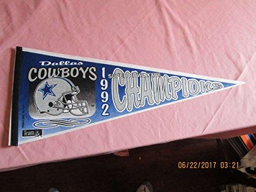 1992 Dallas Cowboys Superbowl Champions XXVII Football - Super Cowboys Bowl 1992 Dallas