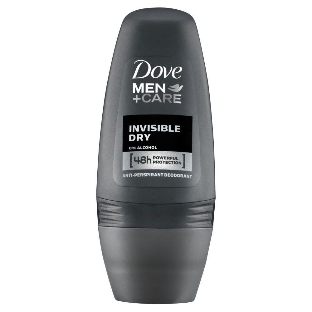 Dove Men + Care Antiperspirant Deodorant - Invisible Dry Roll-On (50ml) Groceries RW-US-DOVE-144