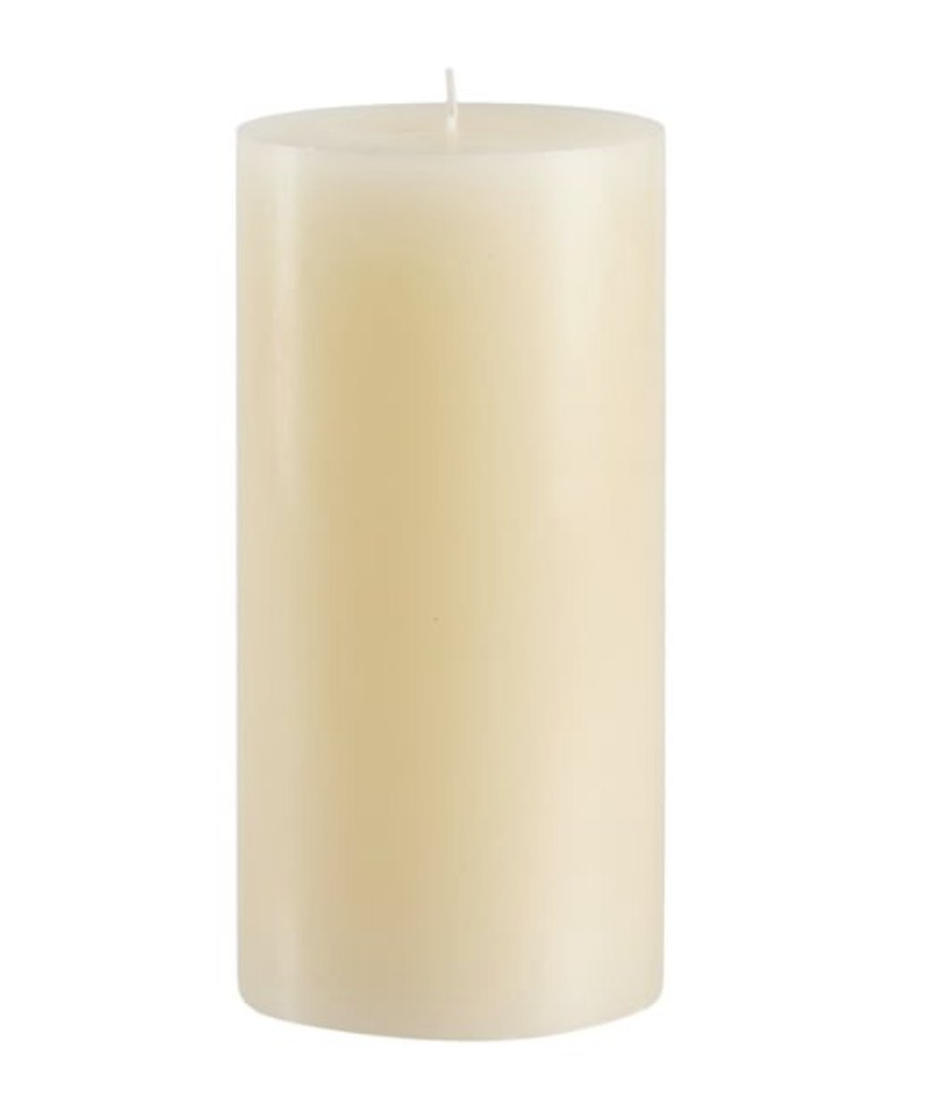 Candles4Less - 4 Inch x 6 Inch Bulk Ivory Pillar Candles (Set of 3) Unscented Solid Color Hand Made with Cotton Wicks, Dripless Made in USA