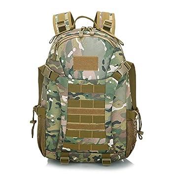 SQI Mochila de combate Tiger spot 3D outdoor montañismo bolso de combate especial dispensación Battle Pack tour rush pack mochila de Estudiante,CP camuflaje ...
