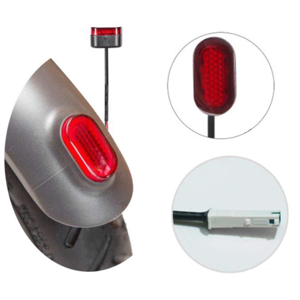Luz de scooter el/éctrico Furnoor Luz de luz trasera luz de freno para Xiaomi M365 Cola de advertencia de seguridad de freno Pr/áctico Duradero