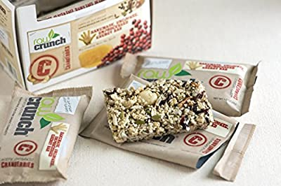 Raw Crunch Bars Organic -- 12 Bars