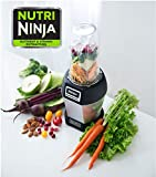 single blender ninja - Nutri NINJA BL455 Professional 1000 watts Personal Blender Bonus Set with 3-Sip & Seal Single Serves(12, 18, and 24-Ounce Cups) & 75-Recipe Cookbook