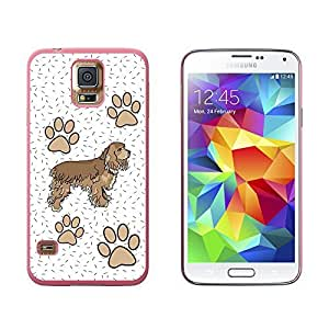 Cocker Spaniel of Radiance - Snap On Hard Protective Case for Samsung Galaxy S5 - Black