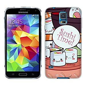 Head case cover Designs Maki Sushi Time Gel 5QOR9mHXMSc Back case cover for Samsung Galaxy S5