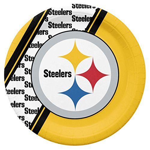 Pittsburgh Steelers Paper (Pittsburgh Steelers Disposable Paper Plates)