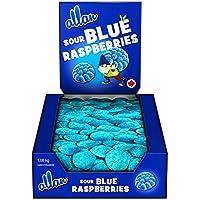 ALLAN Gummy Candy, Sour Blue Raspberry, 1080 Gram