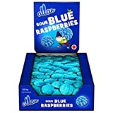 ALLAN Gummy Candy, Sour Blue Raspberry, 1080 Gram