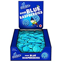 Allan Big Foot Original Gummy Candy, Blue Raspberry 1080 Gram