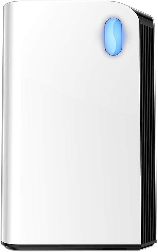 Div ws Purificador de Aire - Purificador de Aire para el hogar Control Remoto WiFi Extracción de Polvo de Escape de Iones Negativos Máquina de purificación de bacteraldehído,WiFiversionofnegativeion: Amazon.es: Hogar