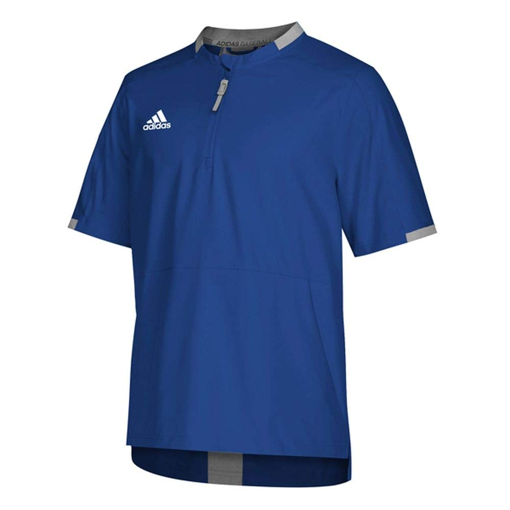 adidas Fielders Choice 2.0 Cage Jacket - Men's Baseball XXXL Collegiate Royal/Core Heather by adidas
