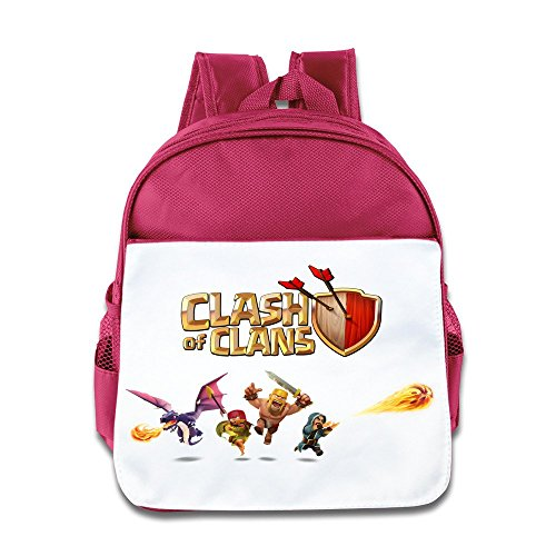 XJBD Custom Personalized Game Poster Teenager School Bag For 1-6 Years Old Pink
