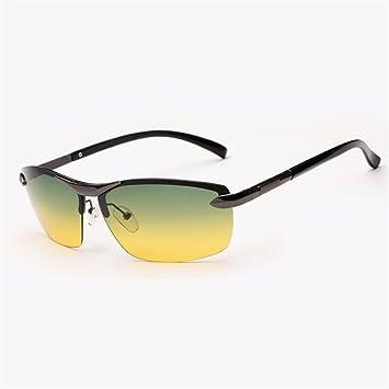 Gafas de sol/hombres polarizados día y noche/conducir conductor espejo/hombres y
