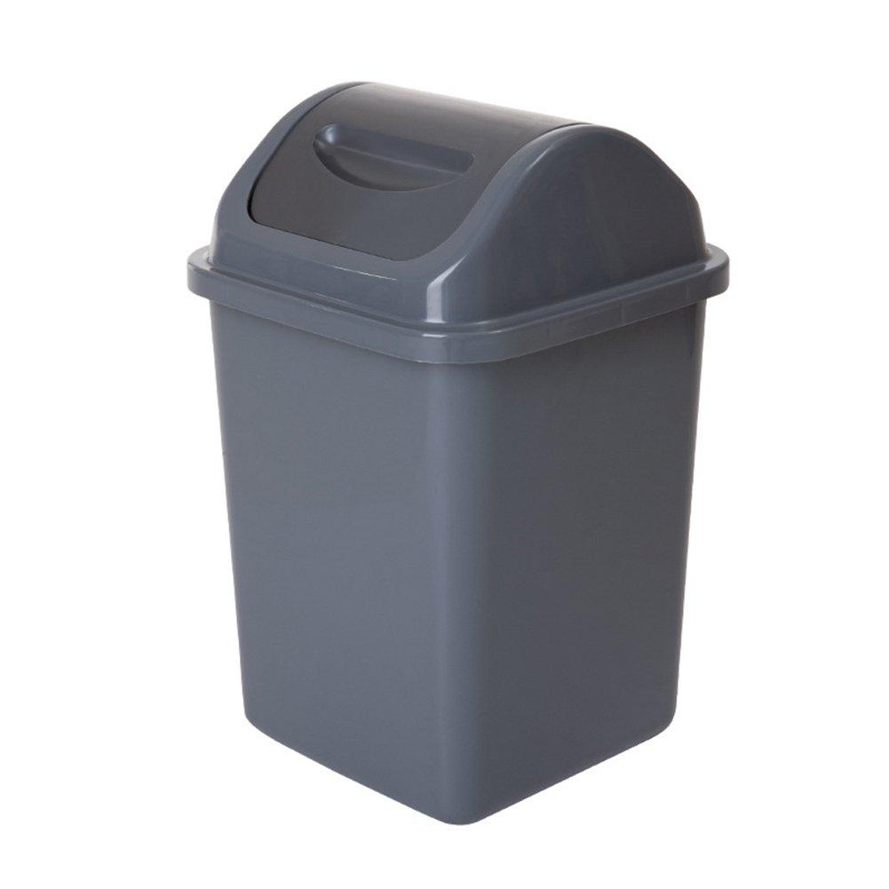 Trash Can Plastic Trash Can Square Camera Da Letto Soggiorno Cucina Trash Can [Classe di efficienza energetica A] SXGX