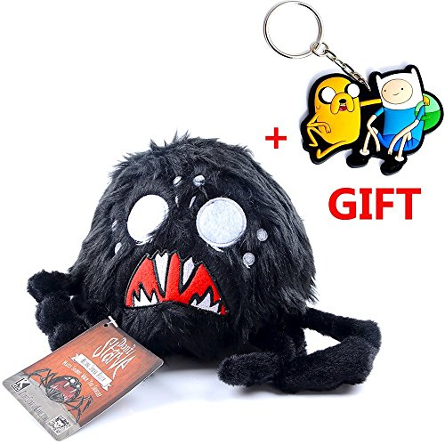 Don't starve Hissing Spider plush toy for kids collectible replica (4 sounds) hissing spider plush (Girls Magic Hat Bunny Costume)
