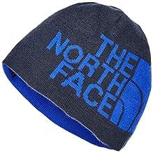 The North Face Reversible TNF Banner Beanie, Urban Navy/TNF Blue Logo XL, OS
