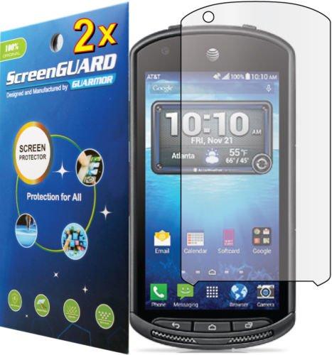 FYL 2x Clear LCD Screen Protector Guard Skin Film for Kyocera DuraForce E6762 E6560