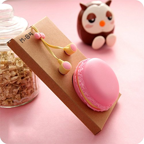 百思买 HuiSiFang 3.5mm In-ear Earbuds Headphones with Cute Macaron