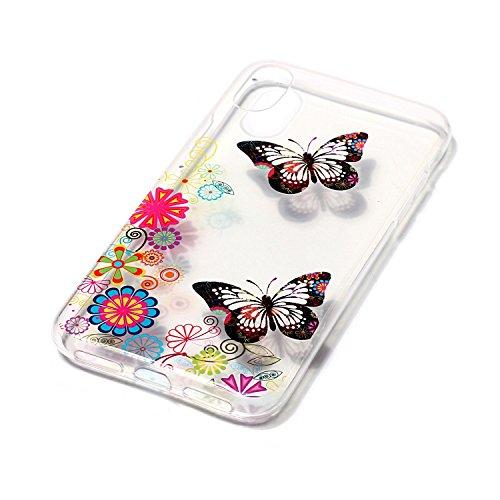 Hülle für iPhone X Case Cover für iPhone X ScratchResistant ISAKEN ...