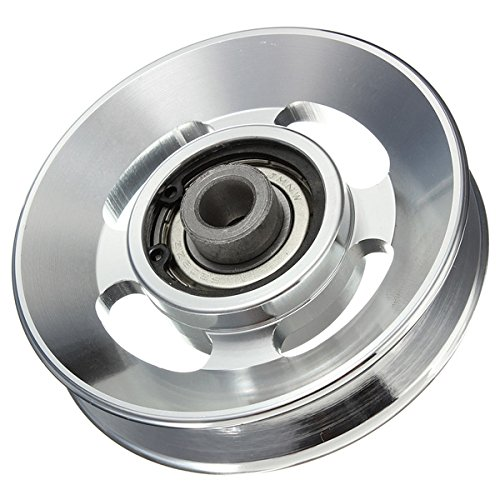 Pukido 88mm Aluminum Alloy Bearing Wheel for Fitting Equipments